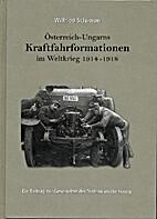 Österreich-Ungarns Kraftfahrformationen im…