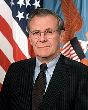 Author photo. Official photograph as Secretary of Defense