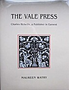 The Vale Press: Charles Ricketts, A…