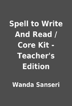 Spell to Write And Read / Core Kit -…