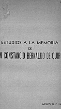 Estudios a la memoria de don Constancio…