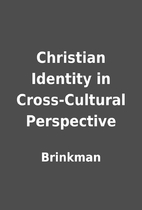 Christian Identity in Cross-Cultural…