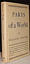 Parts of a world by Wallace Stevens
