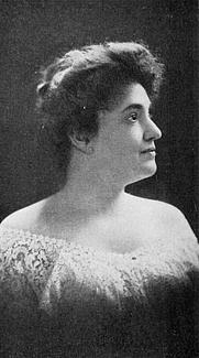 Author photo. Image from <b><i>Psychcoma (Soul-Sleep)</i></b> (1909) by Helen Rhodes Wallace
