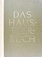 Das Haustierbuch by Paul Eipper