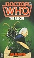 Doctor Who: The Rescue by Ian Marter
