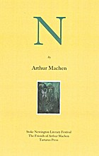 N by Arthur Machen
