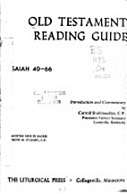 (Old Testament Reading Guide) The Book of…