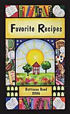Favorite Recipes by Bottineau Band