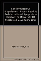 Conformation of Biopolymers Volume 1 by G.…