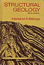 Structural Geology by Marland P. Billings