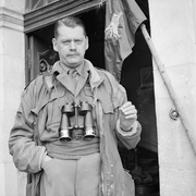 Author photo. Major General R N Gale, GOC 6th Airborne Division