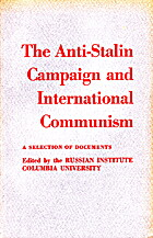 The anti-Stalin campaign and international…