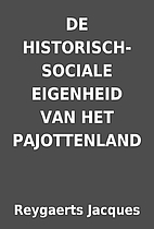 DE HISTORISCH-SOCIALE EIGENHEID VAN HET…