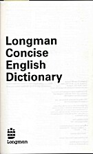 Longman concise English dictionary by Paul…