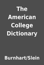 The American College Dictionary by…