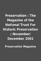 Preservation : The Magazine of the National…