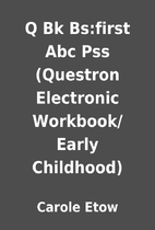 Q Bk Bs:first Abc Pss (Questron Electronic…