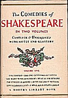 Comedies of Shakespeare in Two Volumes -…