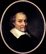 Author photo. Portrait by Ph. Koninck (1665)