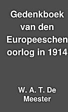 Gedenkboek van den Europeeschen oorlog in…