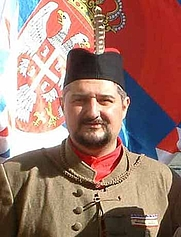 Author photo. As Worshipful Master of the Sokols Society