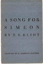 A song for Simeon, (The Ariel poems) by T.…