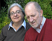 Author photo. Michael Jacob and Daniela De Gregorio (Michael Gregorio)