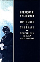Disturber of the Peace - Memoirs of a…
