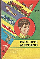 Produits Meccano, catalogue 1937