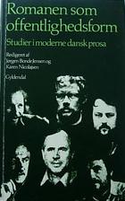 Romanen som offentlighedsform by Jørgen…