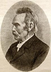 Author photo. Portrait by F. Zachariae (1852-1936)