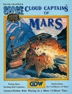 Cloud Captains of Mars by Frank Chadwick