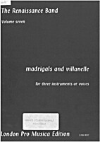 Madrigals and villanelle volume seven