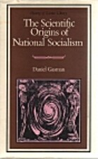 The Scientific Origins of National Socialism…