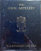 The Royal artillery war commemoration book