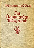 Im flammenden Morgenrot by Hermann Löns