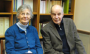 Author photo. Erika Friedl and her husband Reinhold Loeffler, author of 'Islam in Practice'