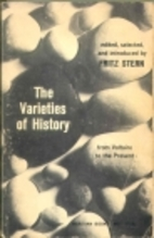 The Varieties of History: From Voltaire to…
