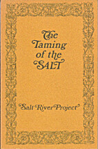 Taming of the Salt by M.R. Tillotson