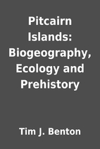 Pitcairn Islands: Biogeography, Ecology and…