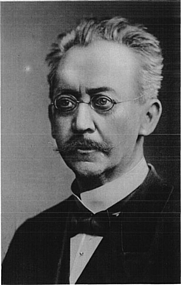 Author photo. Adolf von Harnack