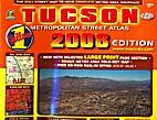 Tucson metropolitan street atlas by Wide…