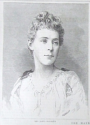 Author photo. From The Graphic 1889, via <a href=&quot;http://en.wikipedia.org/wiki/Image:Mr_and_Mrs_James_Maybrick.jpg&quot;>Wikipedia</a>