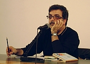 Author photo. Marcello Fois, Biblioteca Delfini, Modena, 2008-04-23, author: Kropotkine 113 (Wikipedia user)