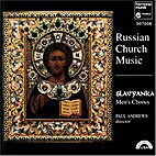 Russian Church Music by Slavyanka Men's…