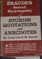 Second encyclopedia of stories, quotations,…