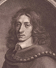 Author photo. Detail of Engraved portrait of Evelyn by Robert Nanteuil, 1650