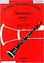 Adagio from the Quintet op. 23 - for Bb…