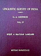 Linguistic survey of India. Vol. IV:…